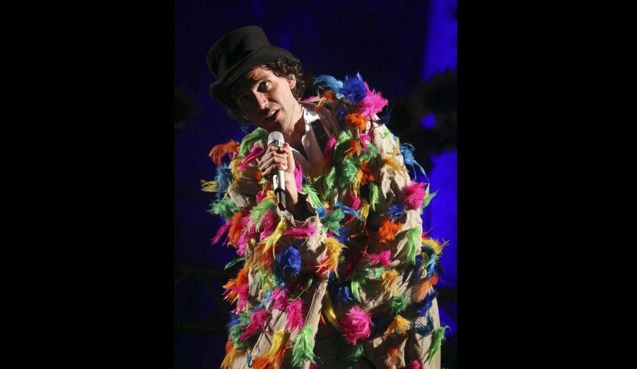 Hier soir, Mika se produisait sur la scène du Festival international de Baalbek, au Liban.