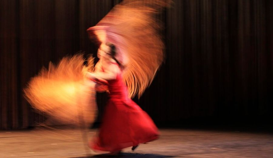 Olga Pericet danse Rosa, Metal, Ceniza, lors du Festival du Flamenco de Londres.