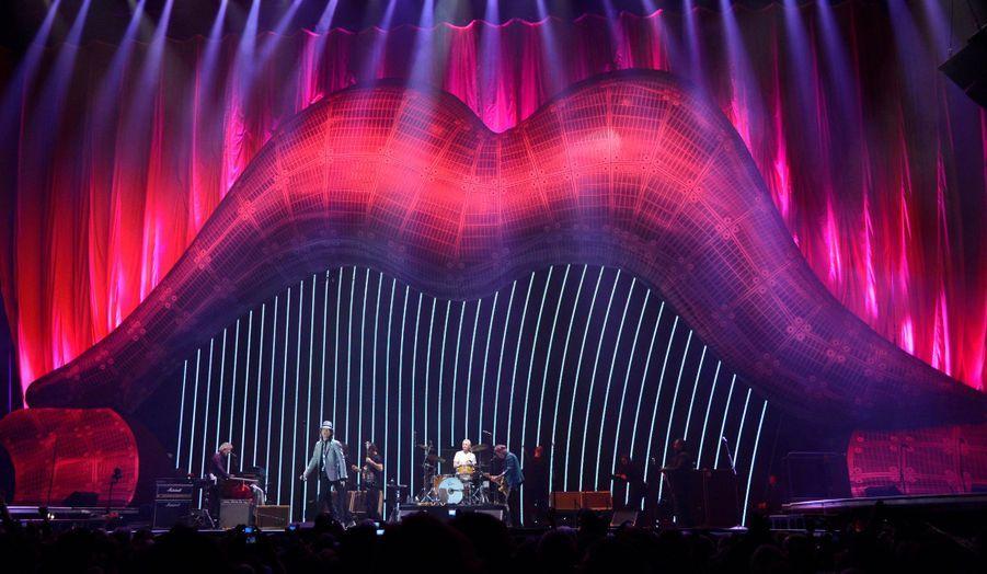 Les Rolling Stones ont donné un concert à guichets fermés à l'O2 Arena de Londres, dimanche, à l'occasion de leur jubilé et de leur tournée mondiale.