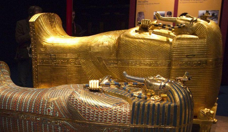 A l'occasion d'une exposition à découvrir jusqu'au 1er septembre, la sépulture du pharaon Toutankhamon a été reconstituée grandeur nature à la Porte de Versailles, à Paris. Cette réplique permet ainsi aux visiteurs de découvrir le tombeau tel que l'a trouvé Howard Carter en 1922.