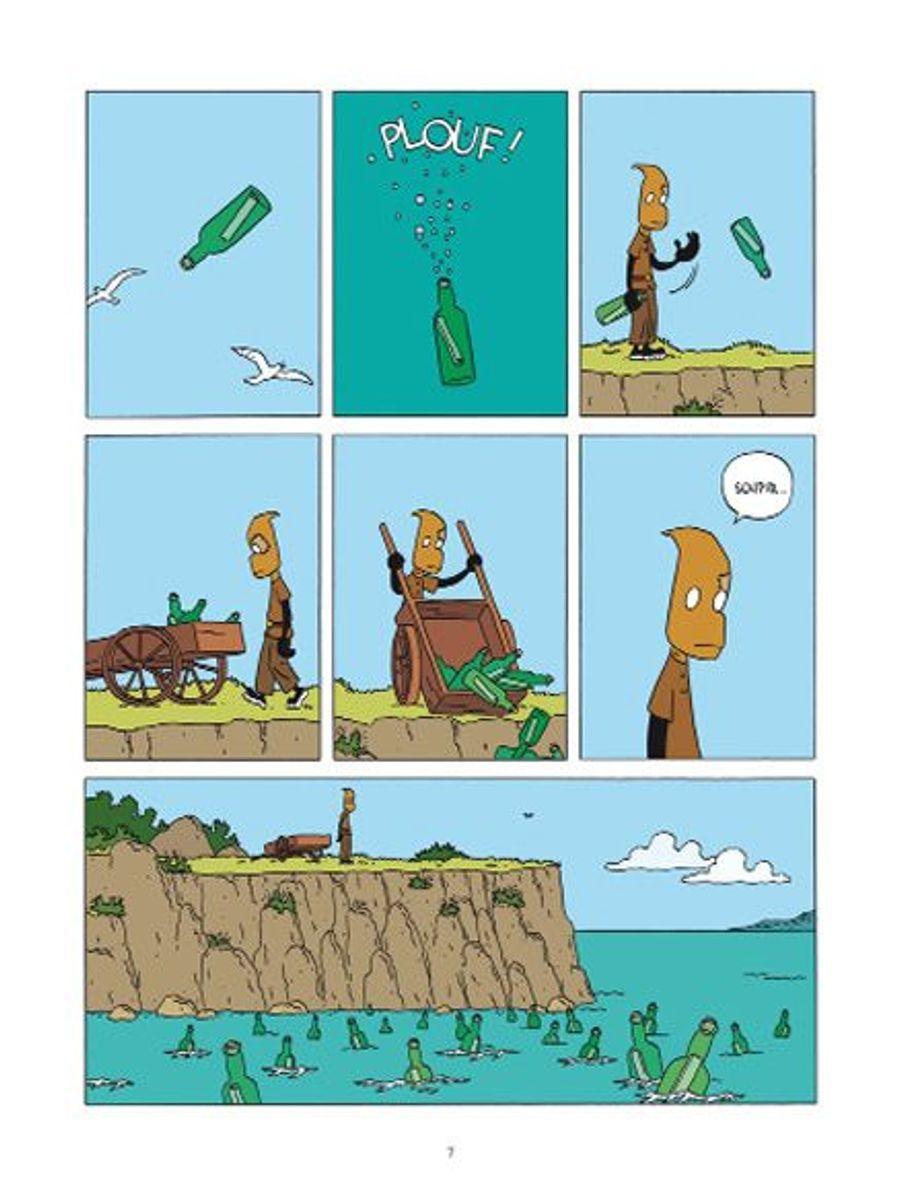 Un récit d'aventure aussi génial qu'inventif, dessiné par l'un des maîtres de l'absurde.