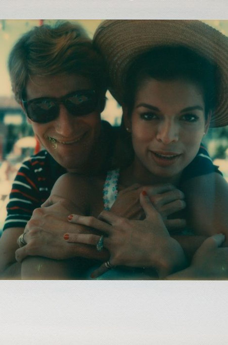 Yves Saint Laurent et Bianca Jagger, 1974
