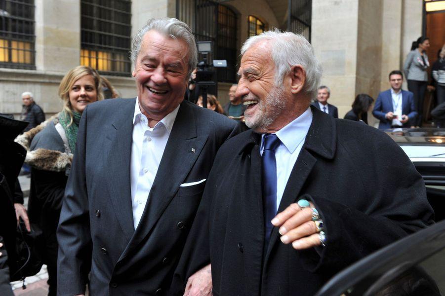 Alain Delon et Jean-Paul Belmondo