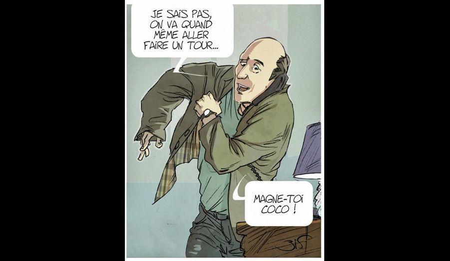 « Chasseurs de scoops », de Christophe Regnault, Pascal Rostain et Bruno Mouron, éd. Glénat. Sortie le 5 septembre.