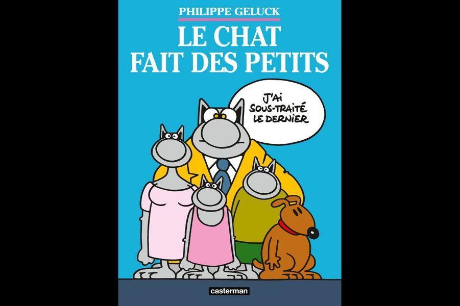 « Le Chat fait des petits » de Philippe Gelluck (Casterman)