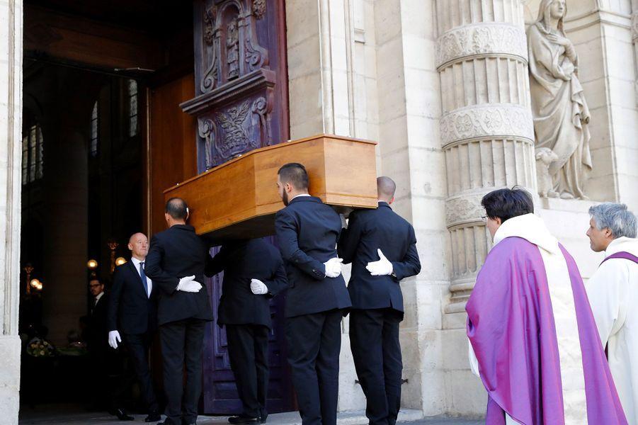 Les obsèques de Max Gallo à Paris, vendredi