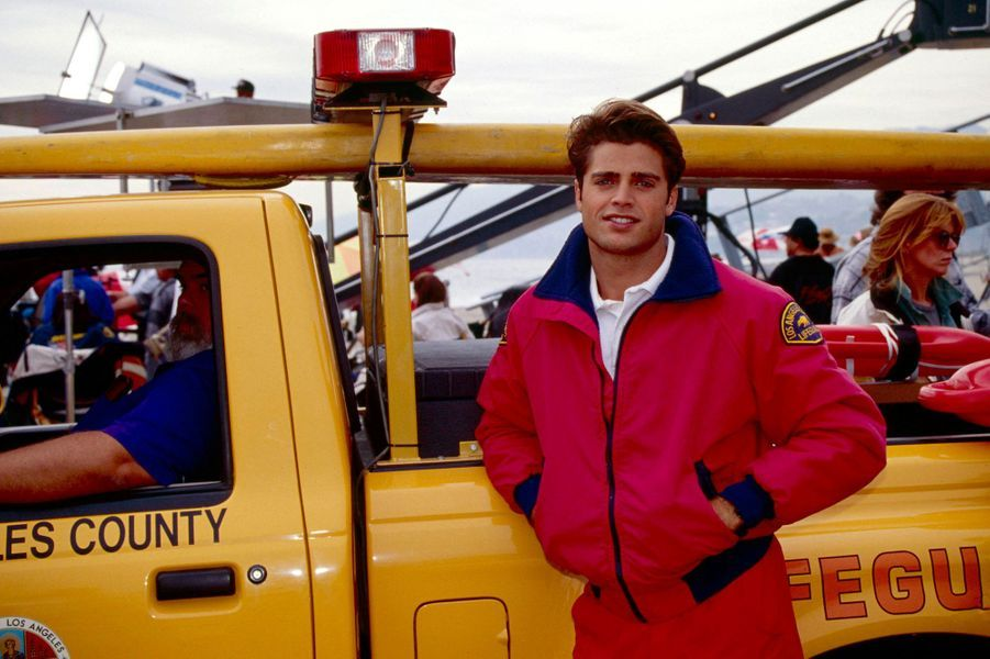 "David Charvet dans ""Alerte à Malibu"" (1992-1996)"