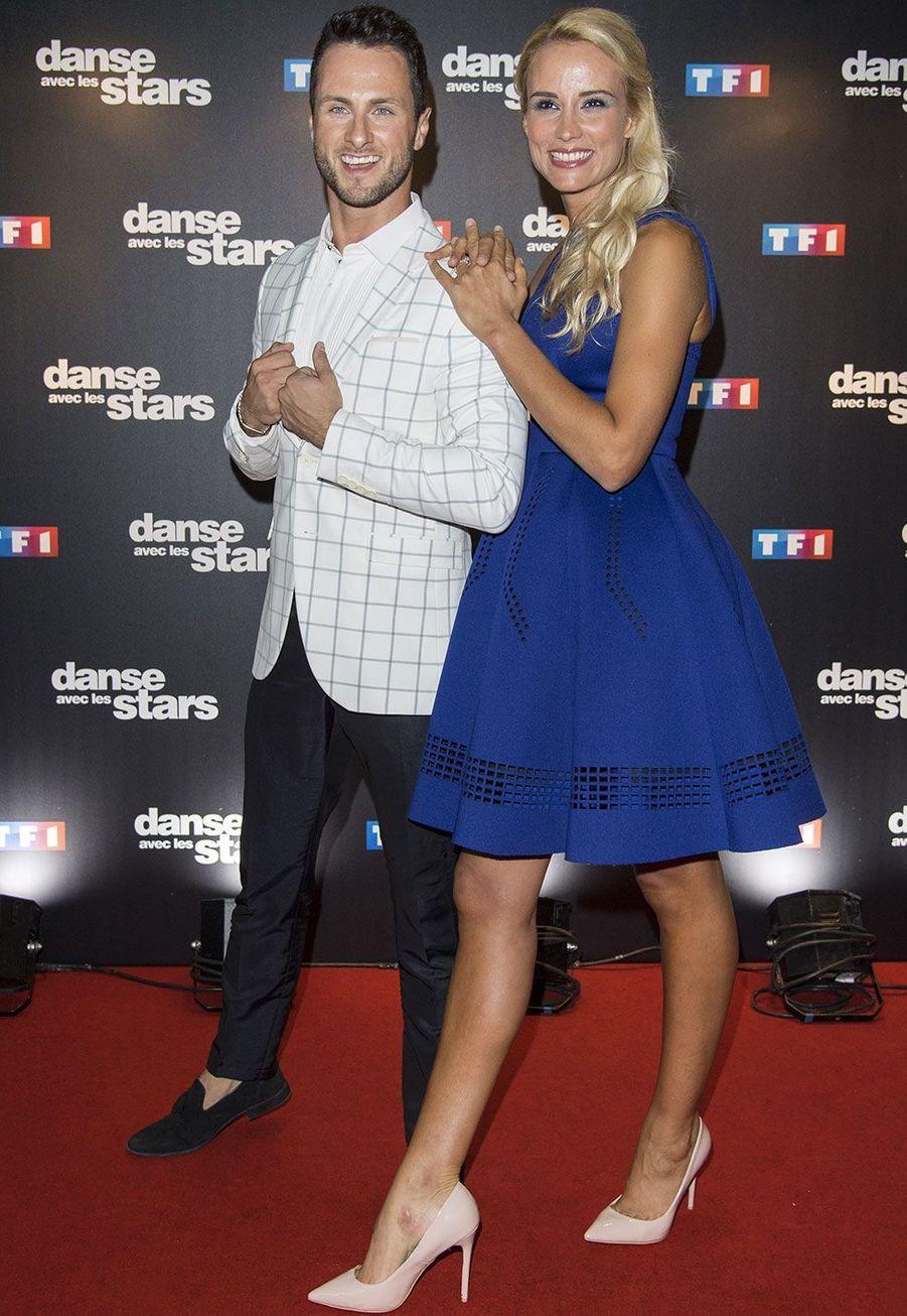 Elodie Gossuin et son danseur Christian Millette