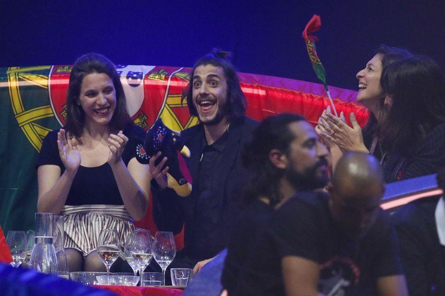 Salvador Sobral lors de l'Eurovision aux côtés de sa soeur