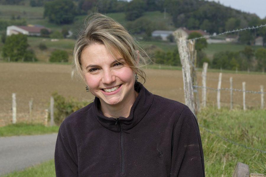 Nathalie, 27 ans, éleveuse de vaches et de chèvres pour le fromage - Bourgogne-Franche Comté