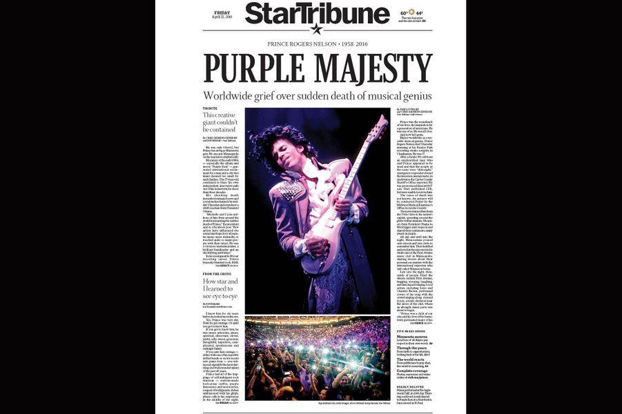 L'hommage de la presse à la légende Prince