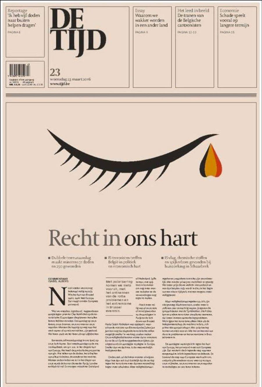 La presse pleure avec la Belgique