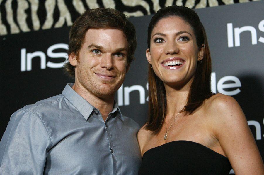 """Michael C. Hall et Jennifer Carpenter de """"Dexter"""""""