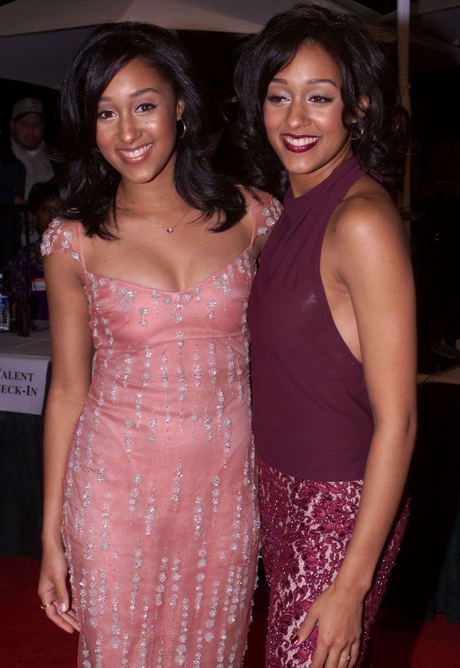 Tamera et Tia Mowry en 2000