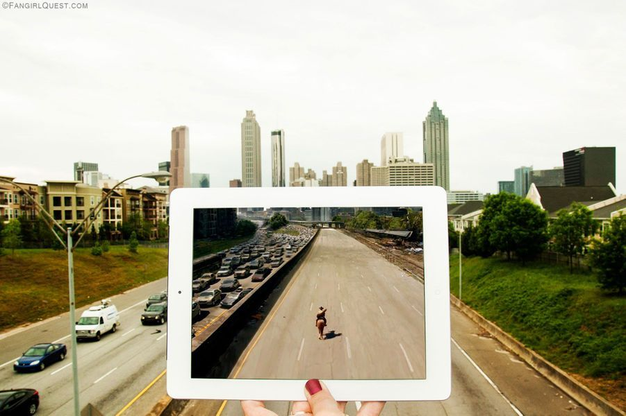 """The Walking Dead"" - Atlanta, Etats-Unis"