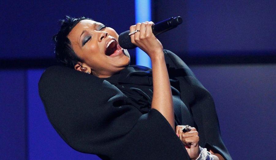 """Monica a reçu le Centric Award. La chanteuse avait été révélée en 1998 pour son duo avec Brandy avec le tube R&B """"The Boy Is Mine""""."""