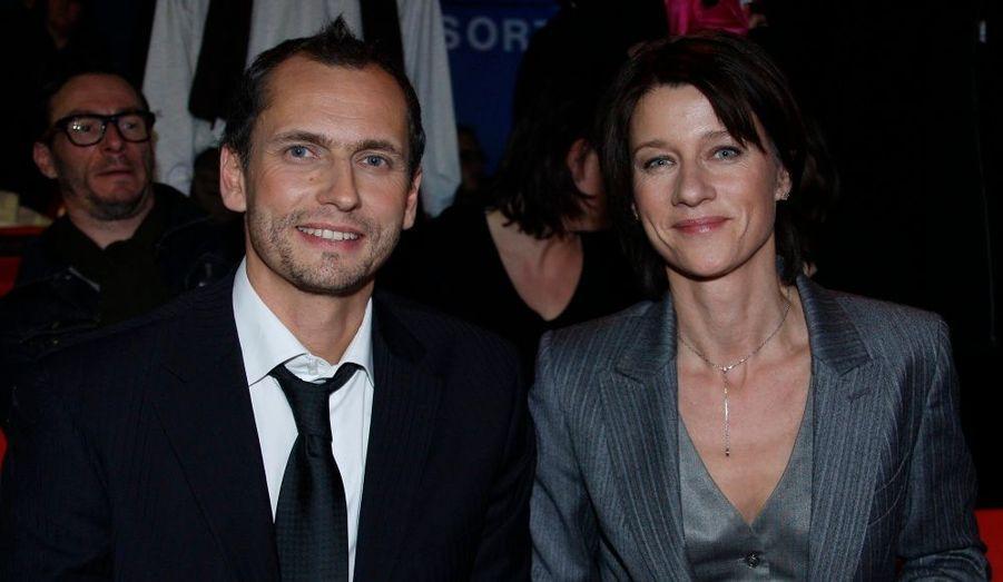 Louis Laforge et Carole Gaessler