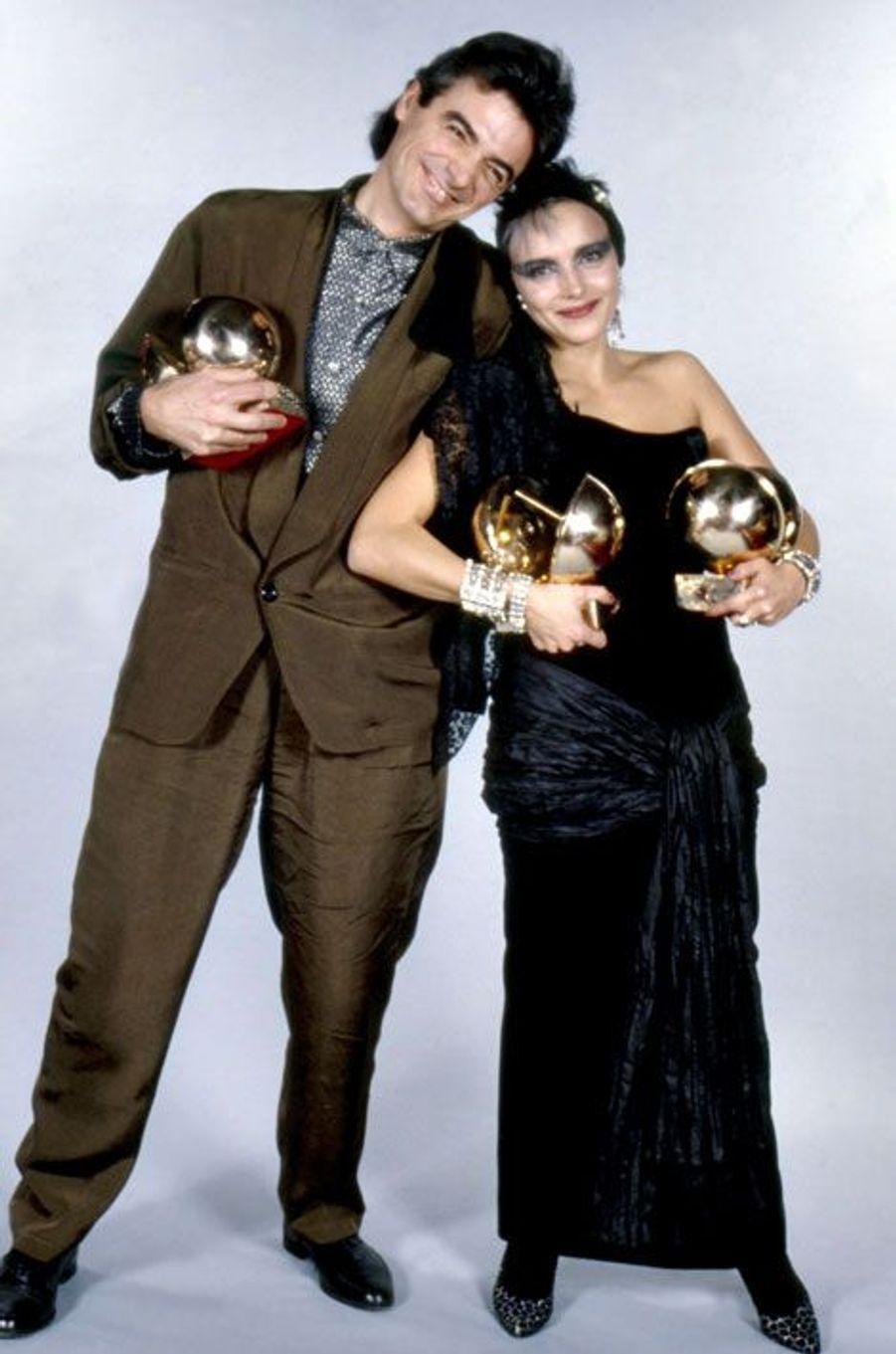 Jeanne Mas et Daniel Lavoie