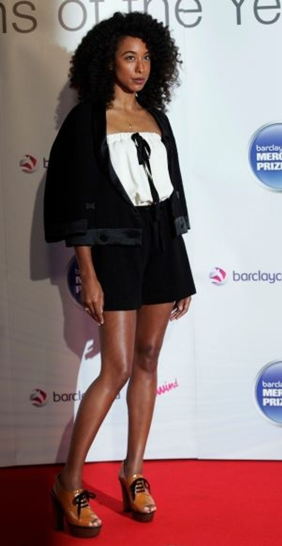 Nominée en 2010, Corinne Bailey Rae faisait cette année partie du jury du prix, décerné pour la première fois en 1992.