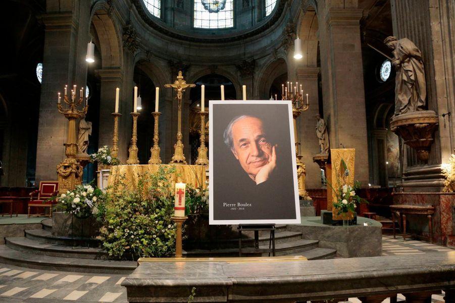 L'hommage à Pierre Boulez
