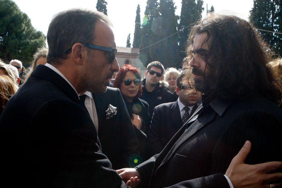 Les obsèques de Demis Roussos