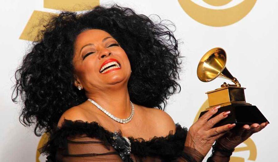 Diana Ross récompensée