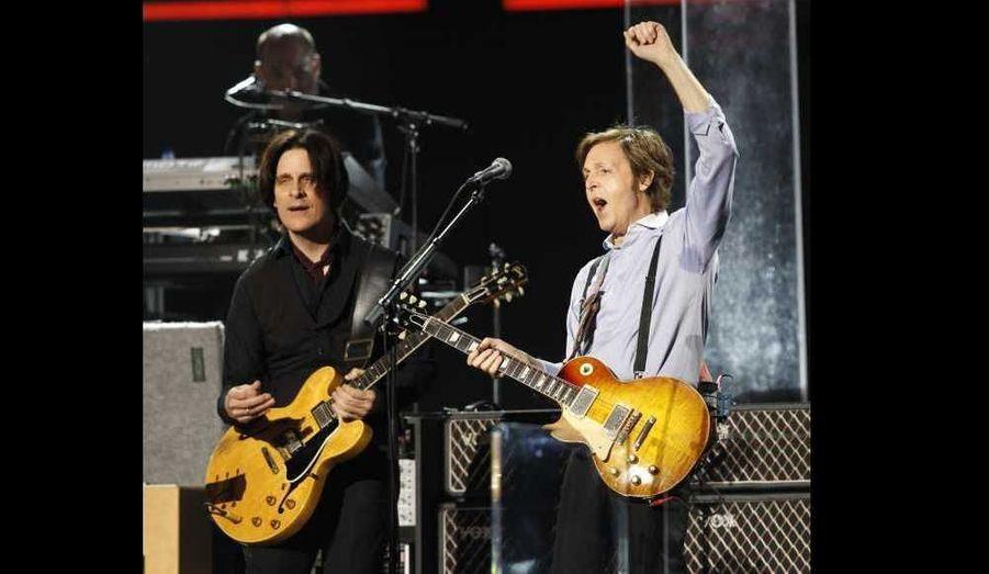 Paul McCartney fait le show