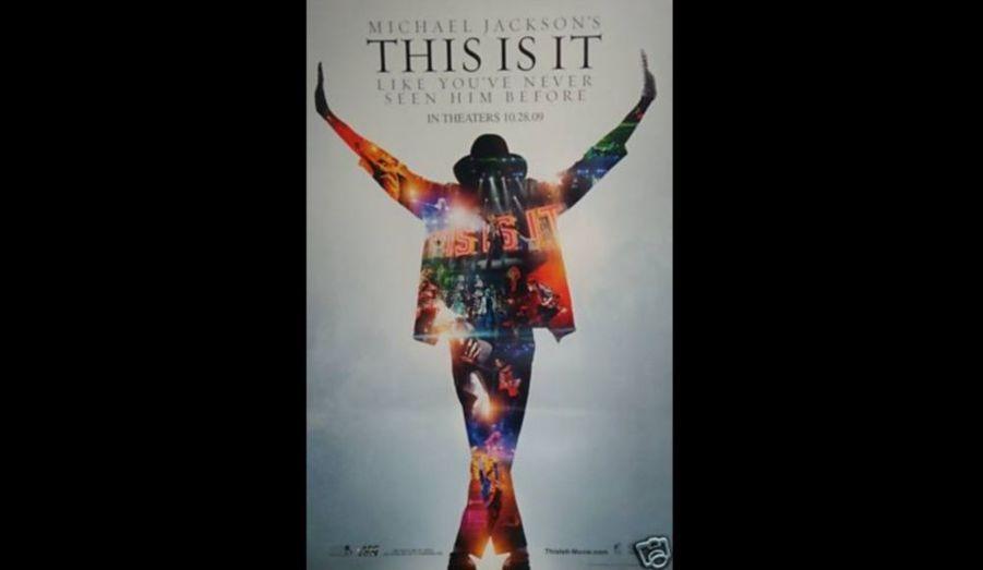 """""""This is it"""", le film des répétitions des derniers concerts de Michael Jackson sortira le 28 octobre. Voici l'affiche de ce long métrage."""