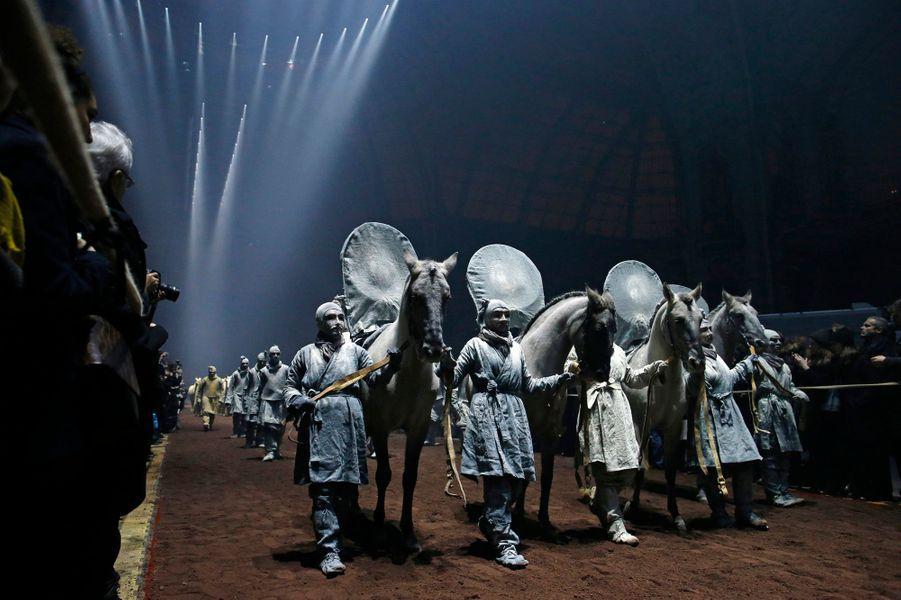 La direction artistique de cet événement a été confiée à Patrick Bouchain et à Thierry Dreyfus, déjà à l'œuvre lors de la réouverture du Grand Palais, et à M. Chen Weyia, co-concepteur de la cérémonie d'ouverture des Jeux Olympiques de Pékin en 2008, ainsi qu'à Pierre Giner pour la création d'une image vidéo originale.