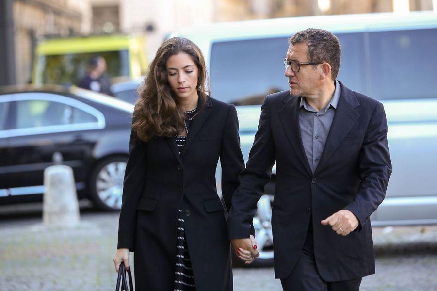 Dany Boon et son épouse