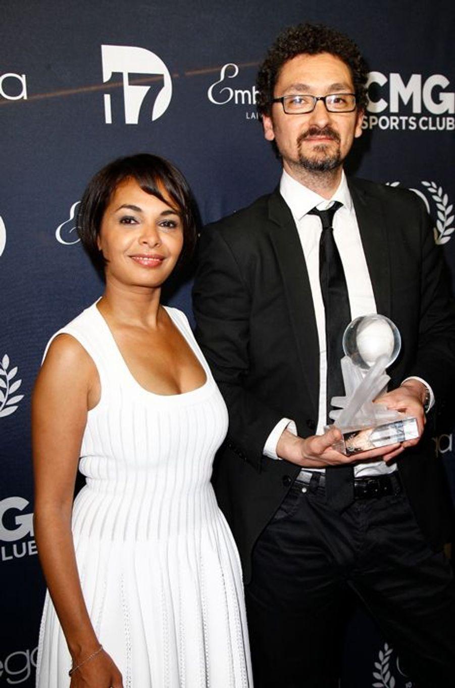 """Saida Jawad et David Foenkinos mis à l'honneur dans la catégorie """"meilleur roman-essai"""""""