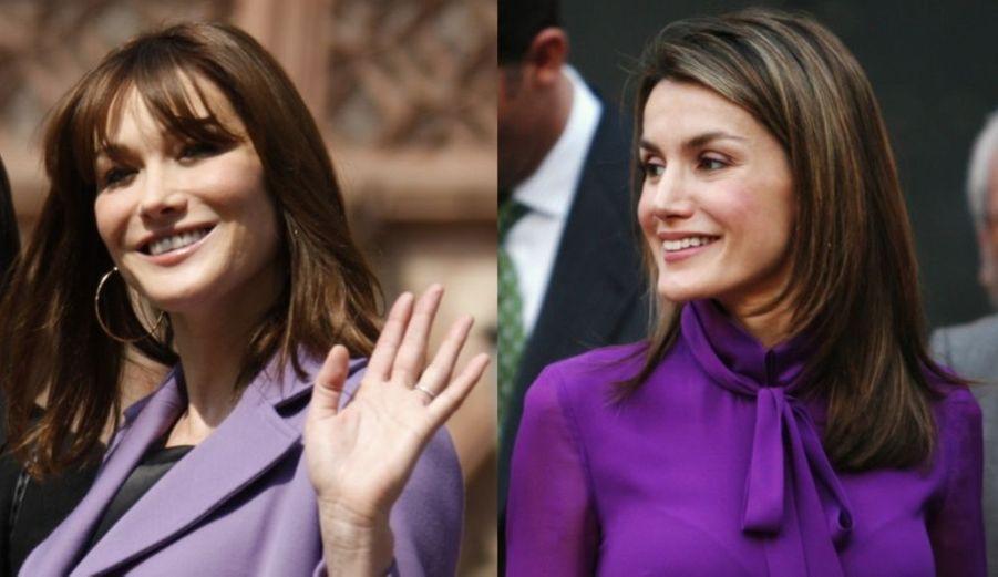"""Nicolas Sarkozy se rend aujourd'hui et demain en Espagne, pour un sommet bilatéral avec le prince héritier Felipe de Bourbon. Mais ce qui passionne surtout les médias, c'est """"l'ouragan Bruni"""". La presse espagnole attend avec impatience le """"duel au sommet"""" entre Carla Bruni-Sarkozy, 41 ans, et Letizia Ortiz, 36 ans, qui devraient rivaliser de beauté. El Pais va même jusqu'à estimer que les """"importants accords"""" seront """"irrémédiablement éclipsés par la garde-robe printanière de Carla Bruni""""."""