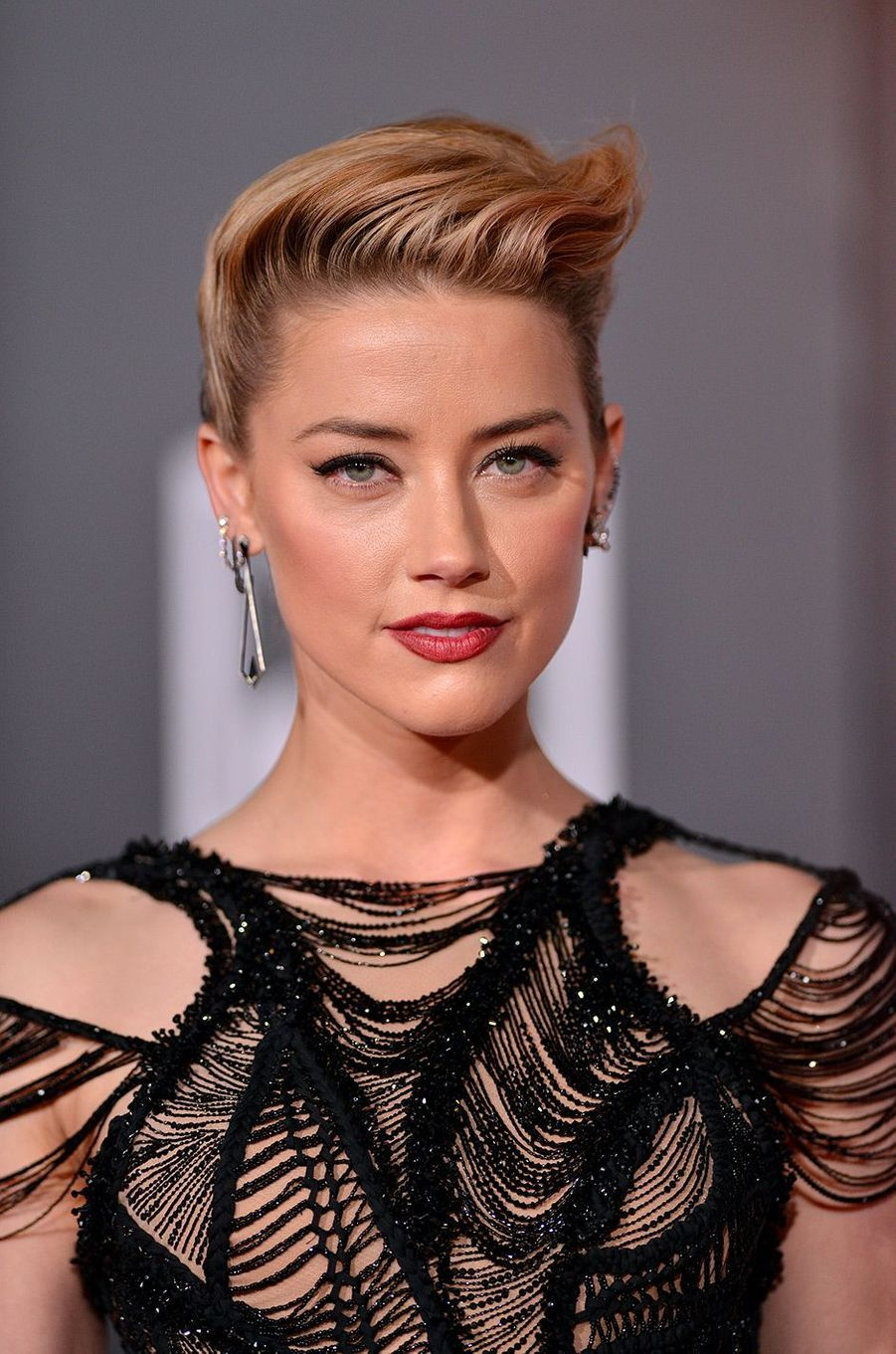 "Amber Heard à l'avant-première de ""Justice League"" à Los Angeles"
