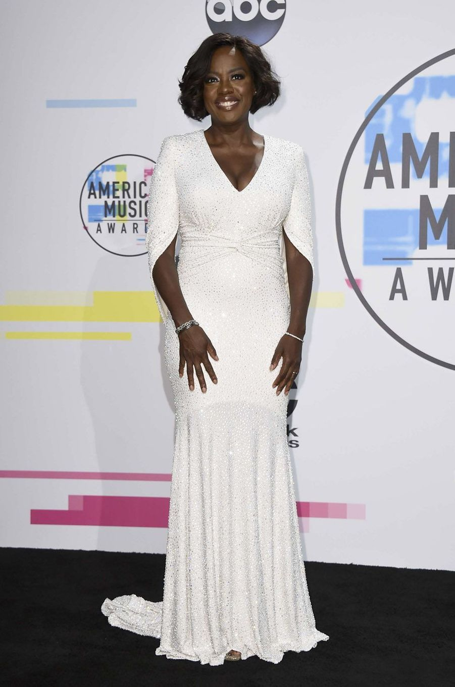 Viola Davisaux American Music Awards, le 19 novembre 2017 à Los Angeles.