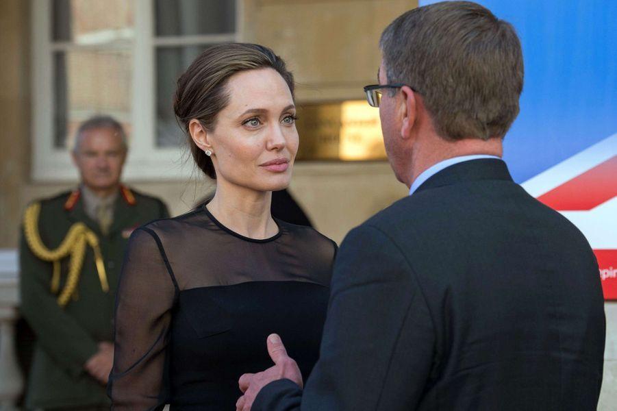 Angelina Jolie à la Lancaster House, à Londres, le 8 septembre 2016.
