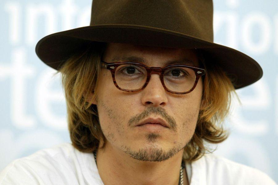 Johnny Depp à Venice en 2003.
