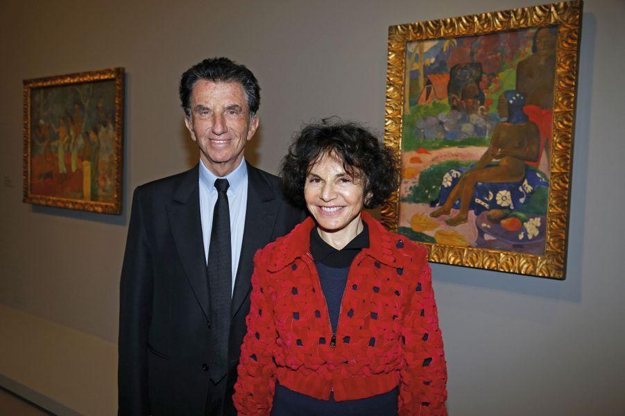Jack et Monique Lang.