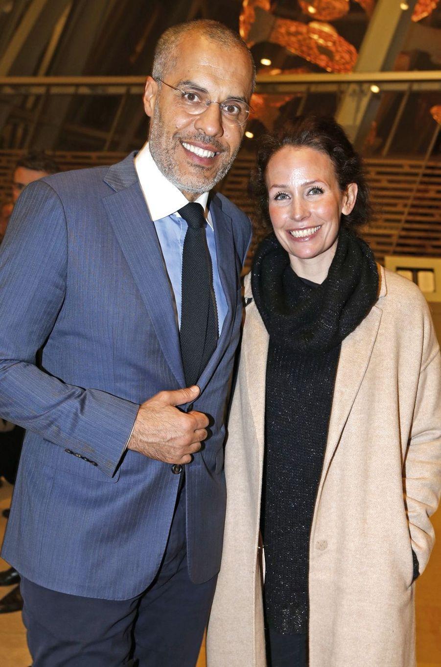 Kamel et Annika Mennour.