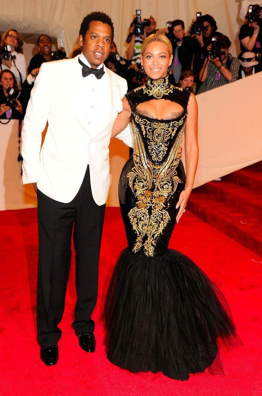 Beyoncé et Jay-Z le 2 mai 2011