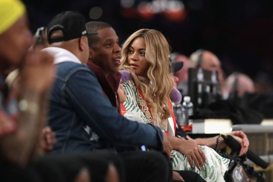 Beyoncé et Jay-Z avec Blue Ivy