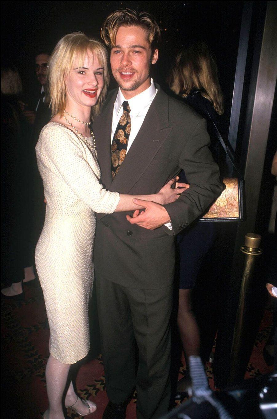 Brad Pitt et Juliette Lewis en 1991