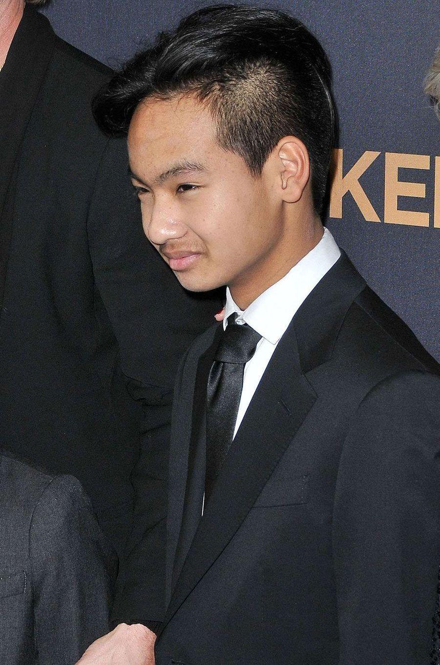 Maddox, 15 ans, l'aîné de la famille.