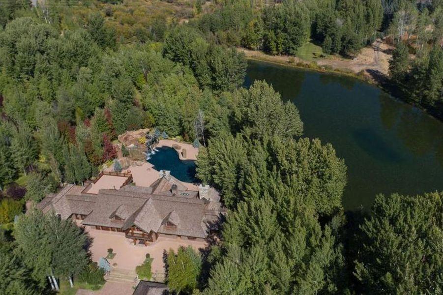 Le ranch de Bruce Willis dans l'Idaho