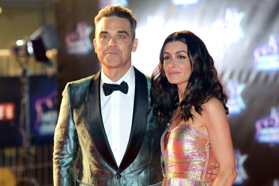 Robbie Wiliams et Jenifer