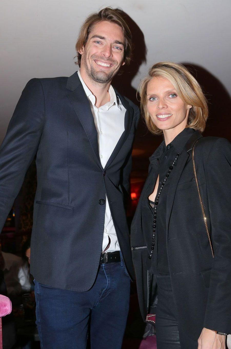 Camille Lacourt et Sylvie Tellier