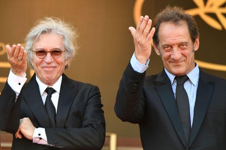 Jacques Doillon et Vincent Doillon