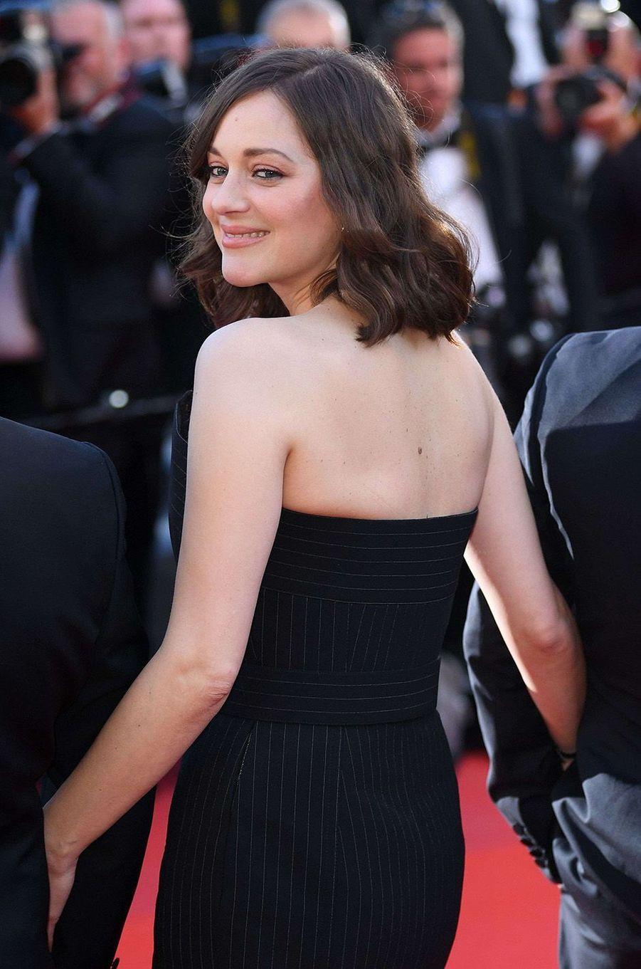 Entre Marion Cotillard et le festival de Cannes, c'est une grande histoire d'amour.