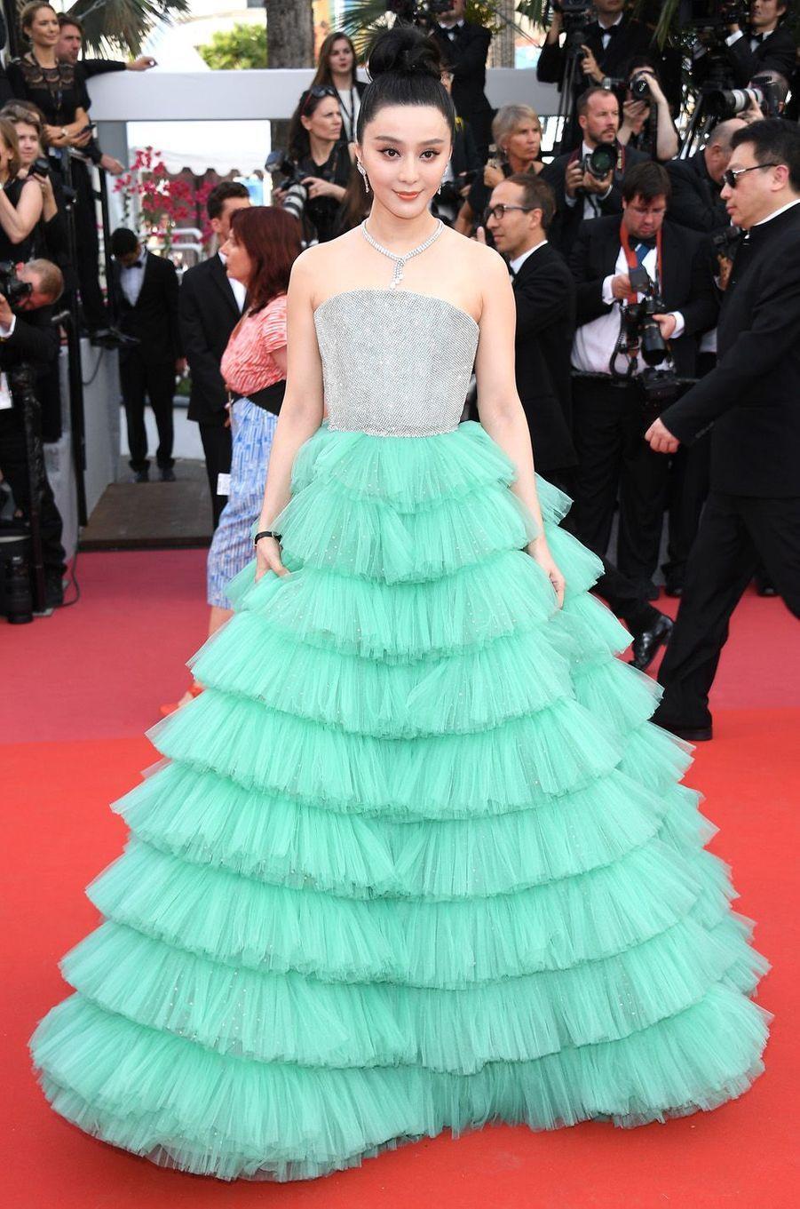 Fan Bingbing à Cannes.