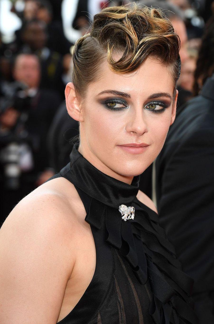 Kristen Stewart sur le tapis rouge du Festival de Cannes, le 8 mai 2018.