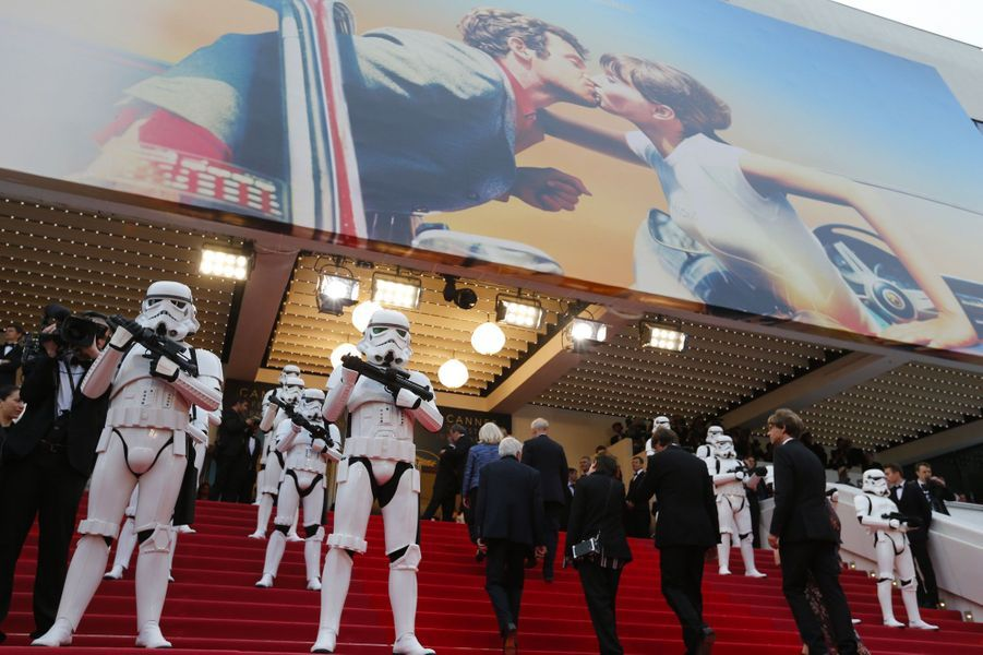 """Montée des marches du film """"Solo : A Star Wars Story"""""""